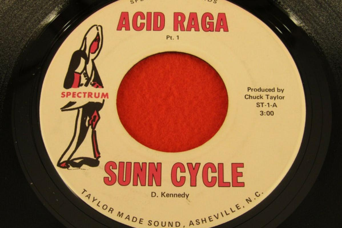 "Sunn Cycle ""Acid Raga"" 7"" record"