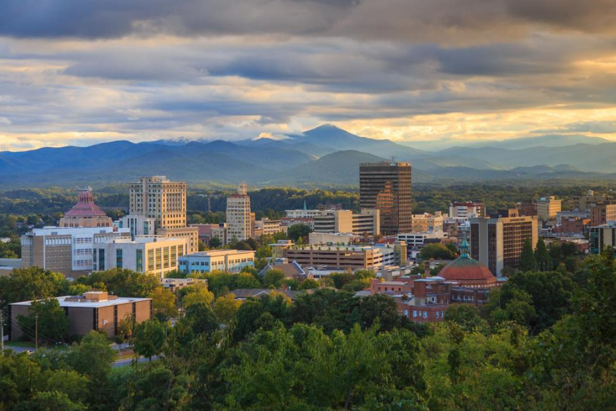 Downtown Asheville Skyline | Photo Credit: Explore Asheville