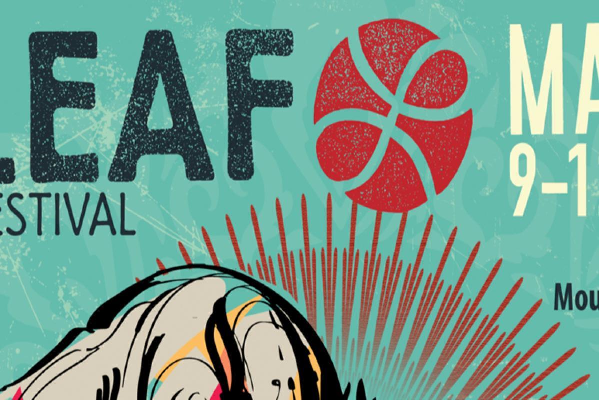 LEAF Festival's 2019 poster