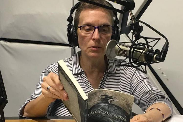 Paula Martinac Charlotte reading