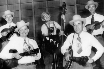 Earl Scruggs with his band