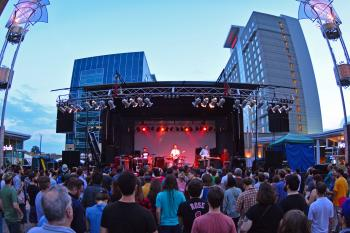 Photograph of City Plaza Mainstage - Hopscotch 2010