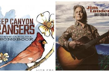 Steep Canyon Rangers and Jim Lauderdale album covers