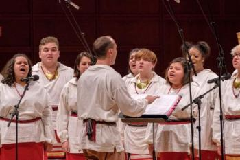 The Cherokee Chamber Choir Performs Si Ostedoah