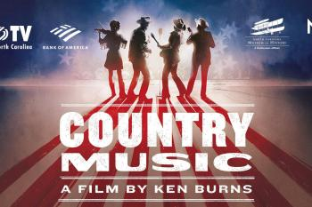 "Ken Burns' ""Country Music"" event poster"
