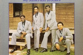 "Sensational Nightingales ""My Sisters and Brother"" album cover"