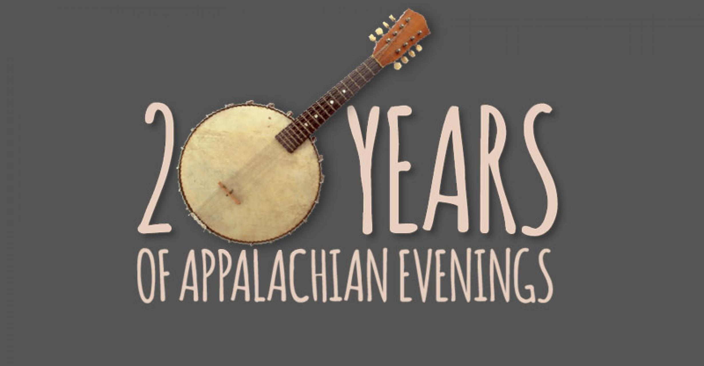 Stecoah Appalachian Evenings 20 Year Anniversary Logo