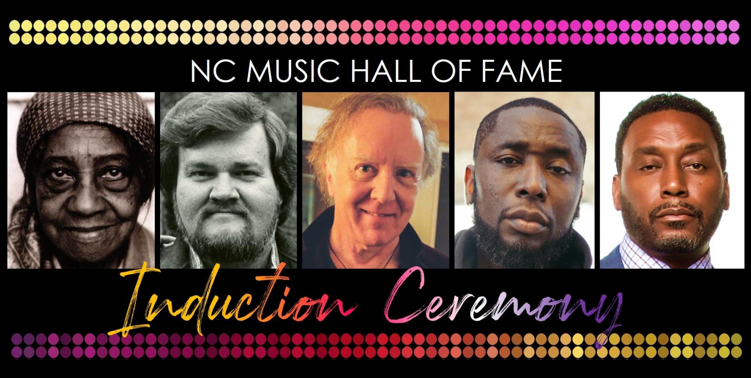 2019 NC Music Hall of Fame Inductees