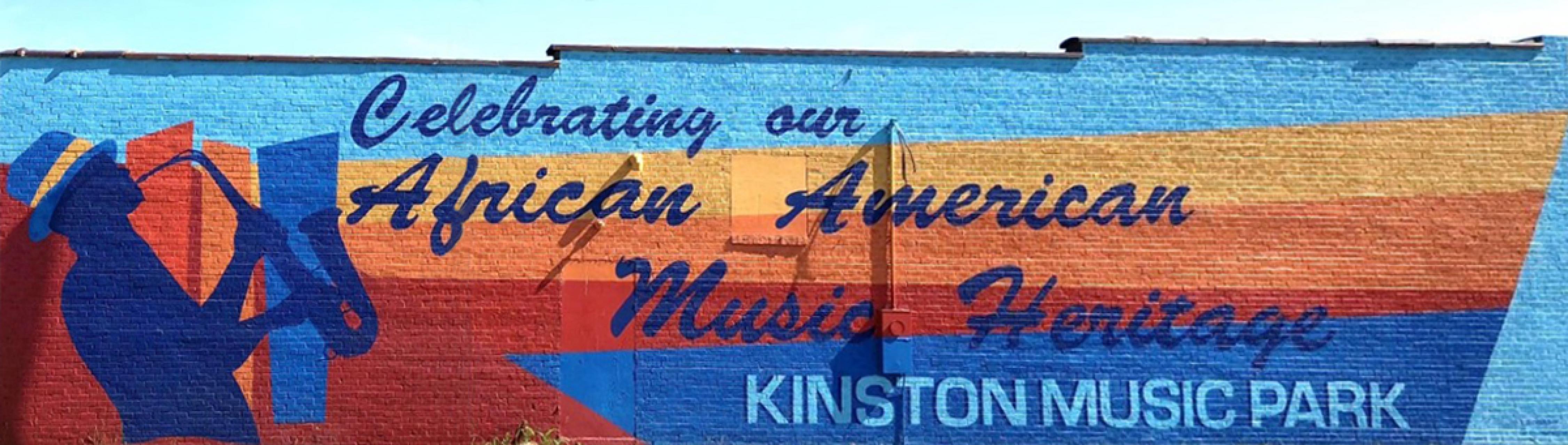 African American Music Trail mural by Scott Nurkin