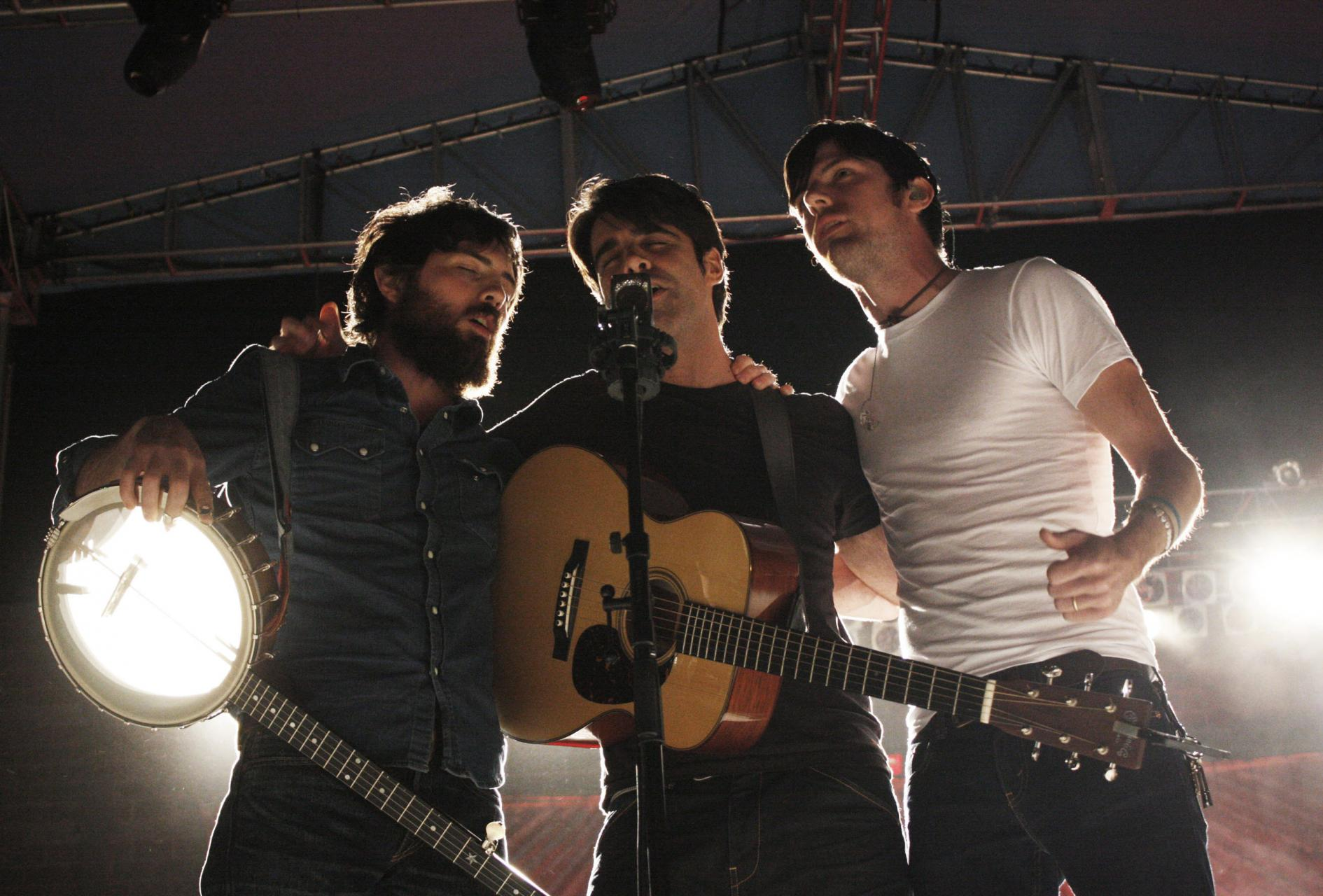 Photo of The Avett Brothers by Daniel Coston