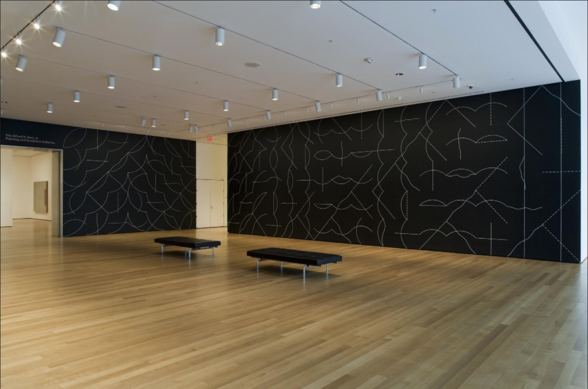 """Focus"" by Sol LeWitt at the Museum of Modern Art 