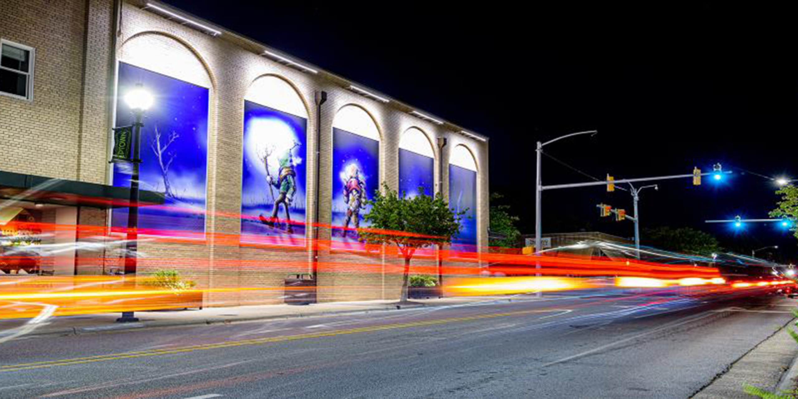 Downtown Greenville. Photo courtesy of the City of Greenville.