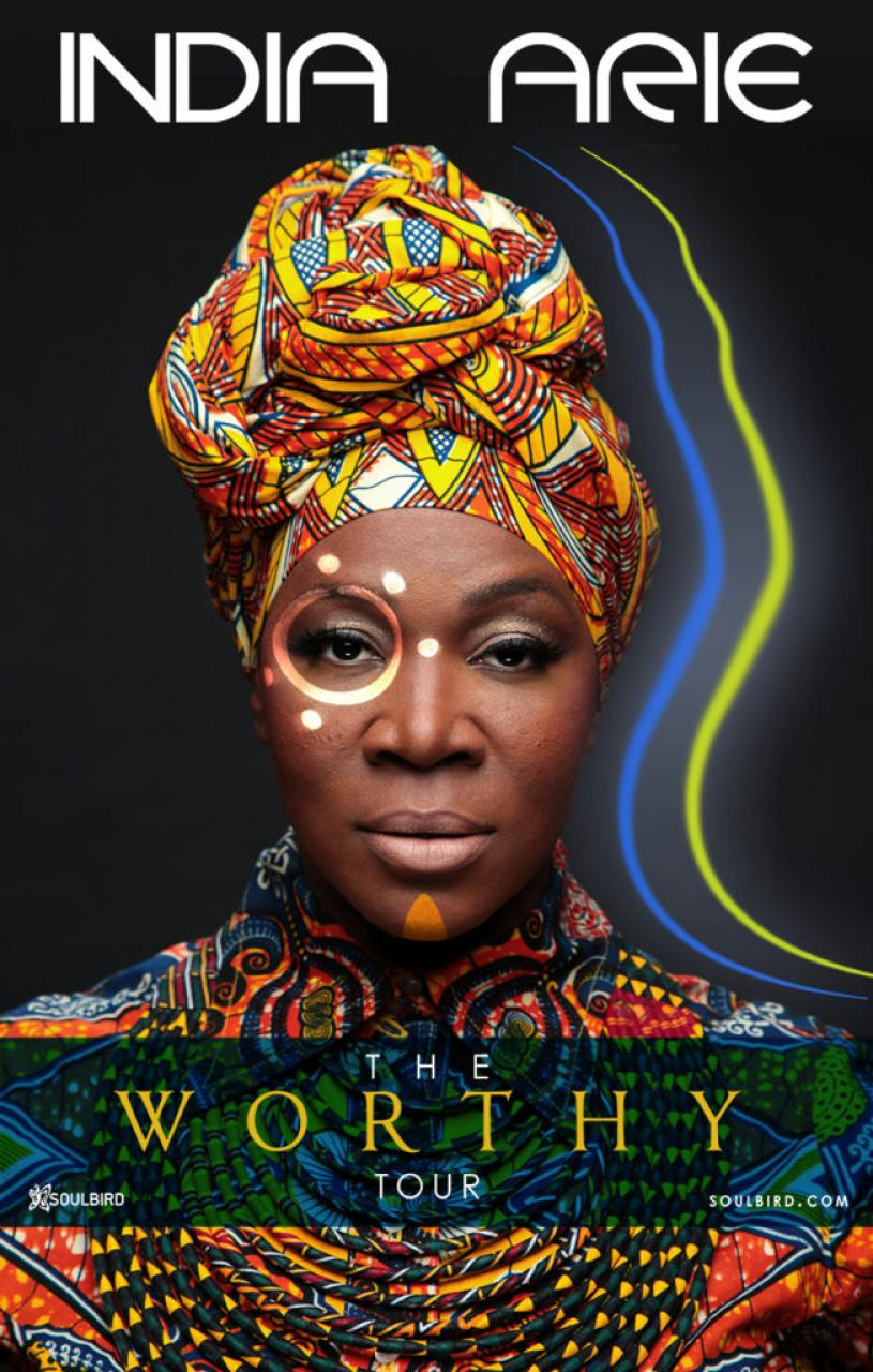 India Arie tour poster