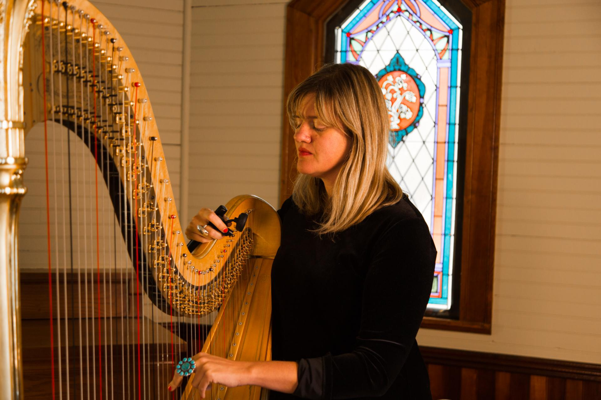 Mary Lattimore at Happy Valley's Chapel of Rest