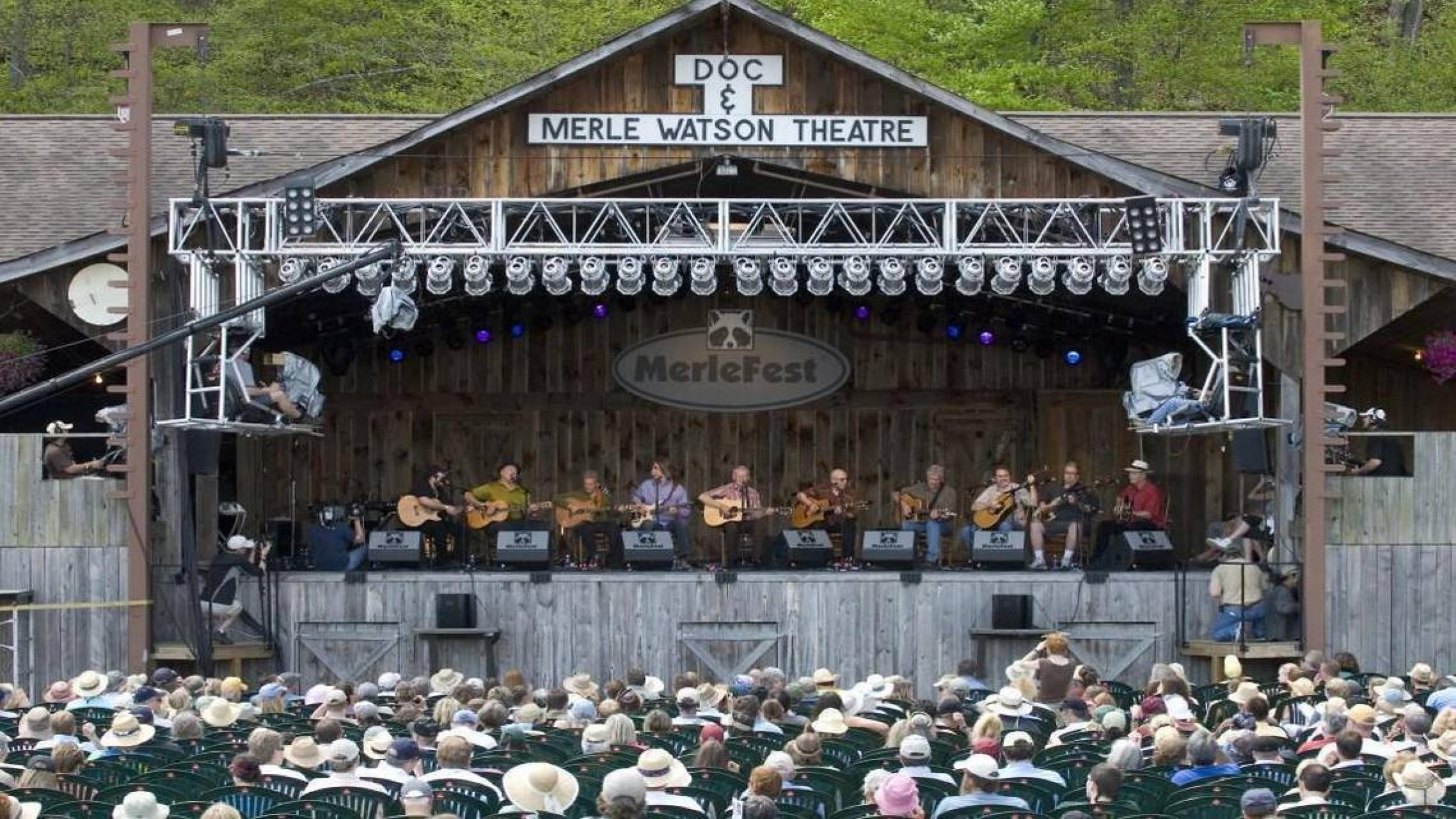 The Doc and Merle Watson Theatre at Merlefest, 2013