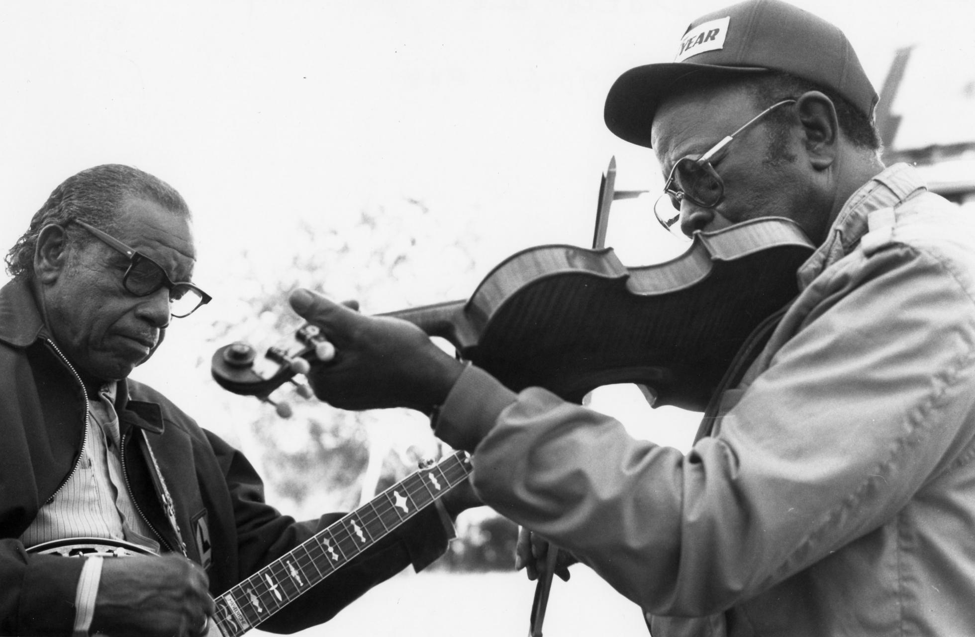 Odell & Joe Thompson. Photo by Mary Anne McDonald