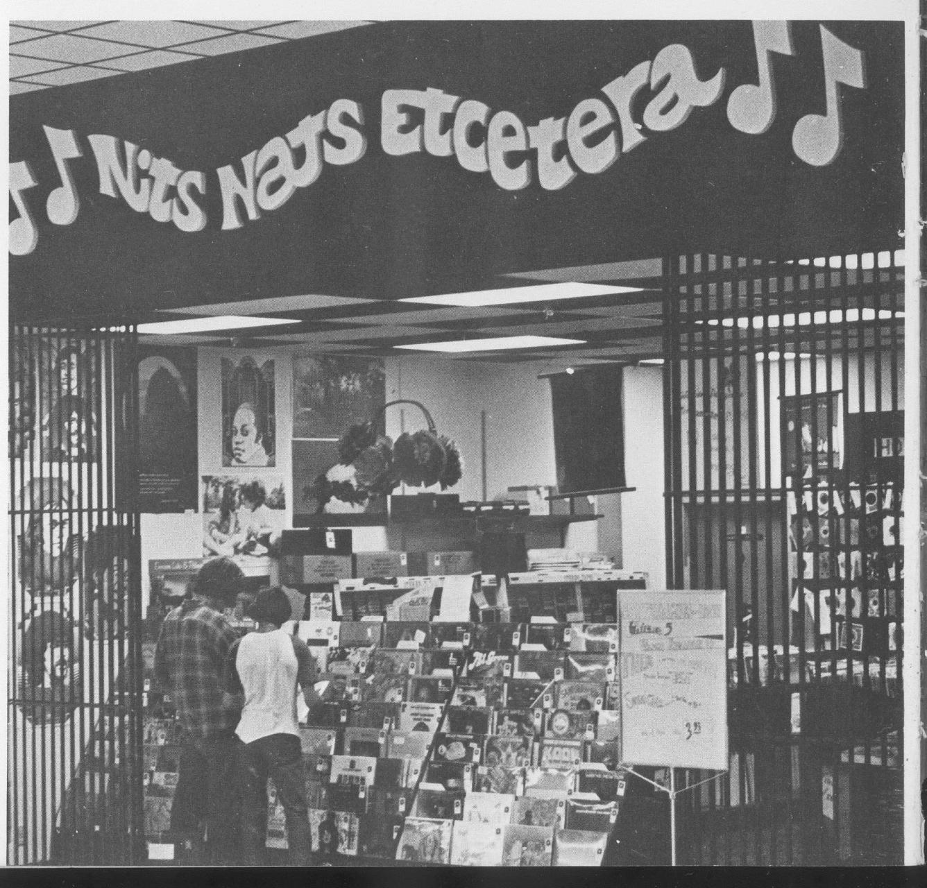 Nit Nats' Henderson Mall storefront in 1973