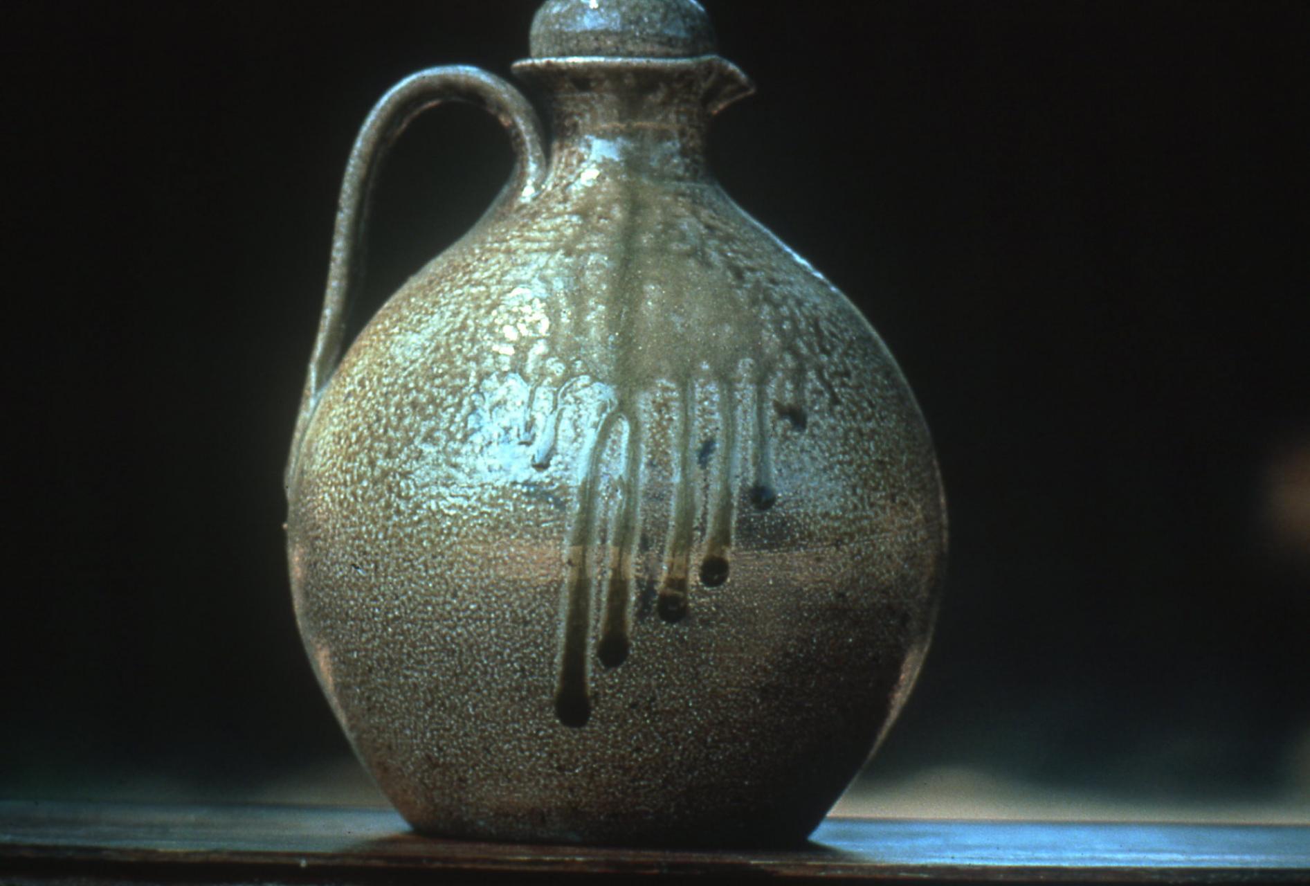 Vernon Owens saltglazed jug. Photo by Sam Sweezy
