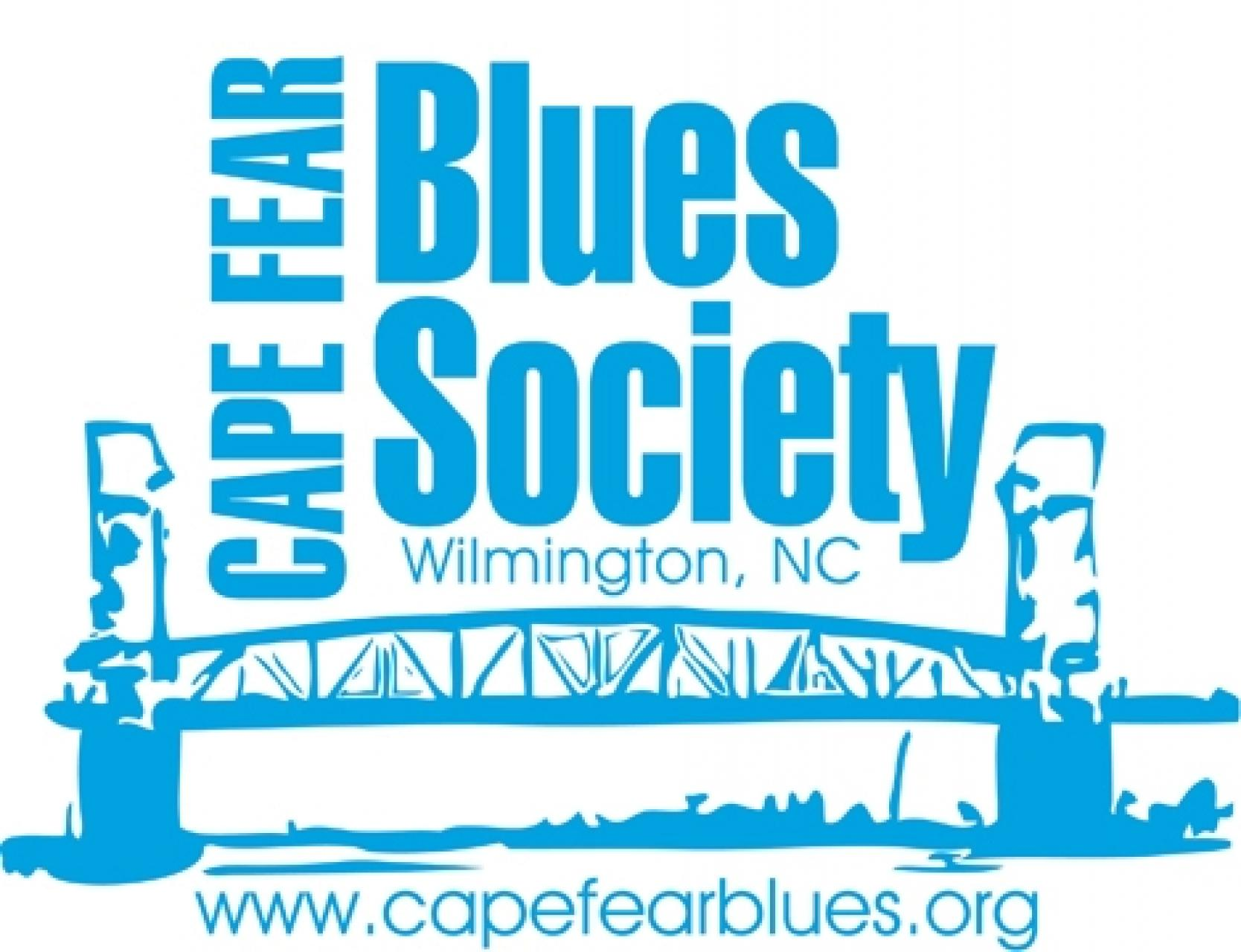 Cape Fear Blues Society Logo