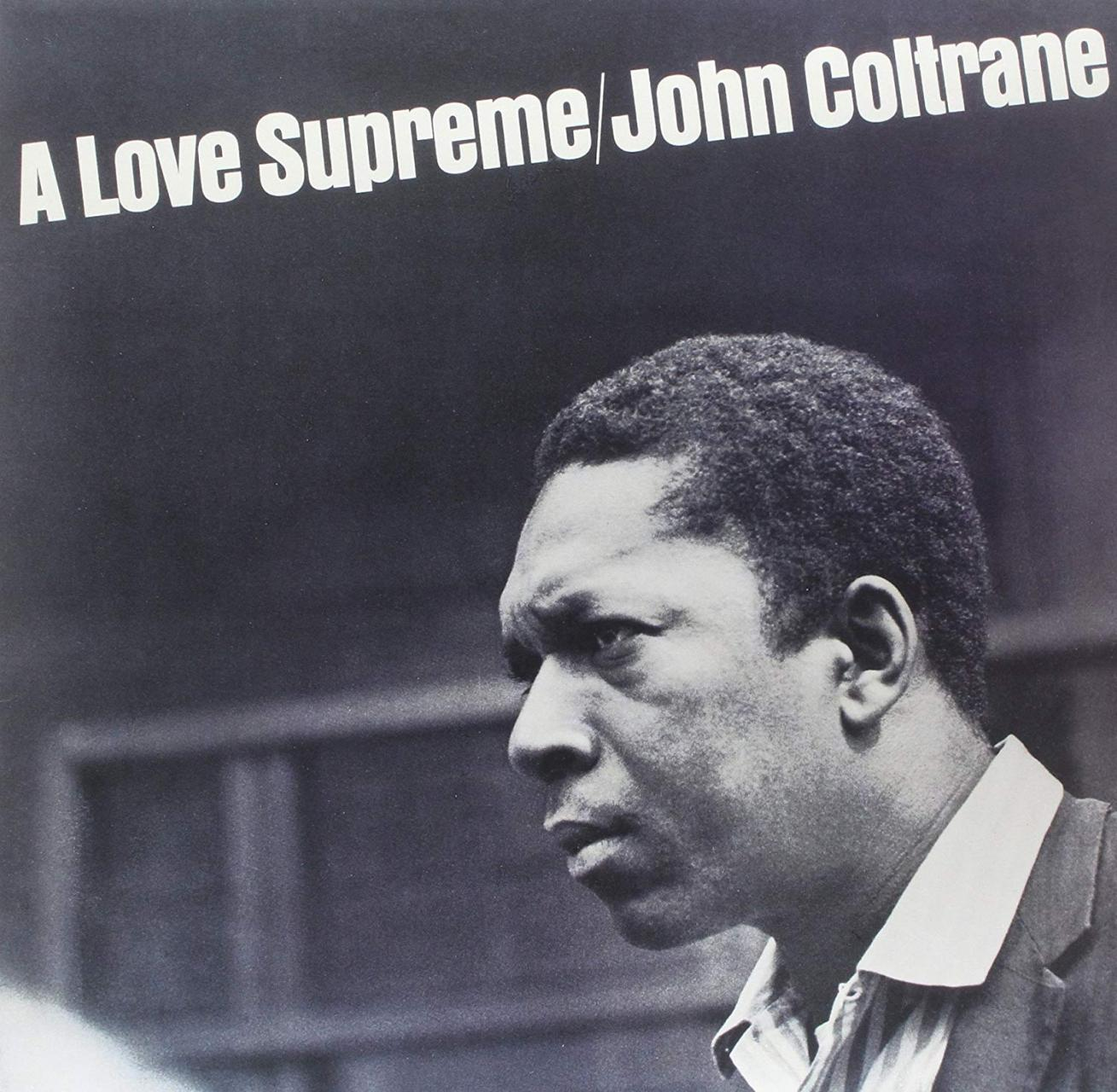 "John Coltrane - ""A Love Supreme"" album cover"