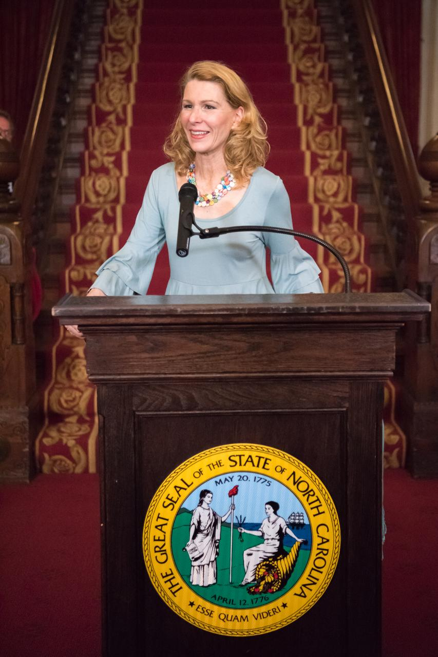 First Lady Kristin Cooper