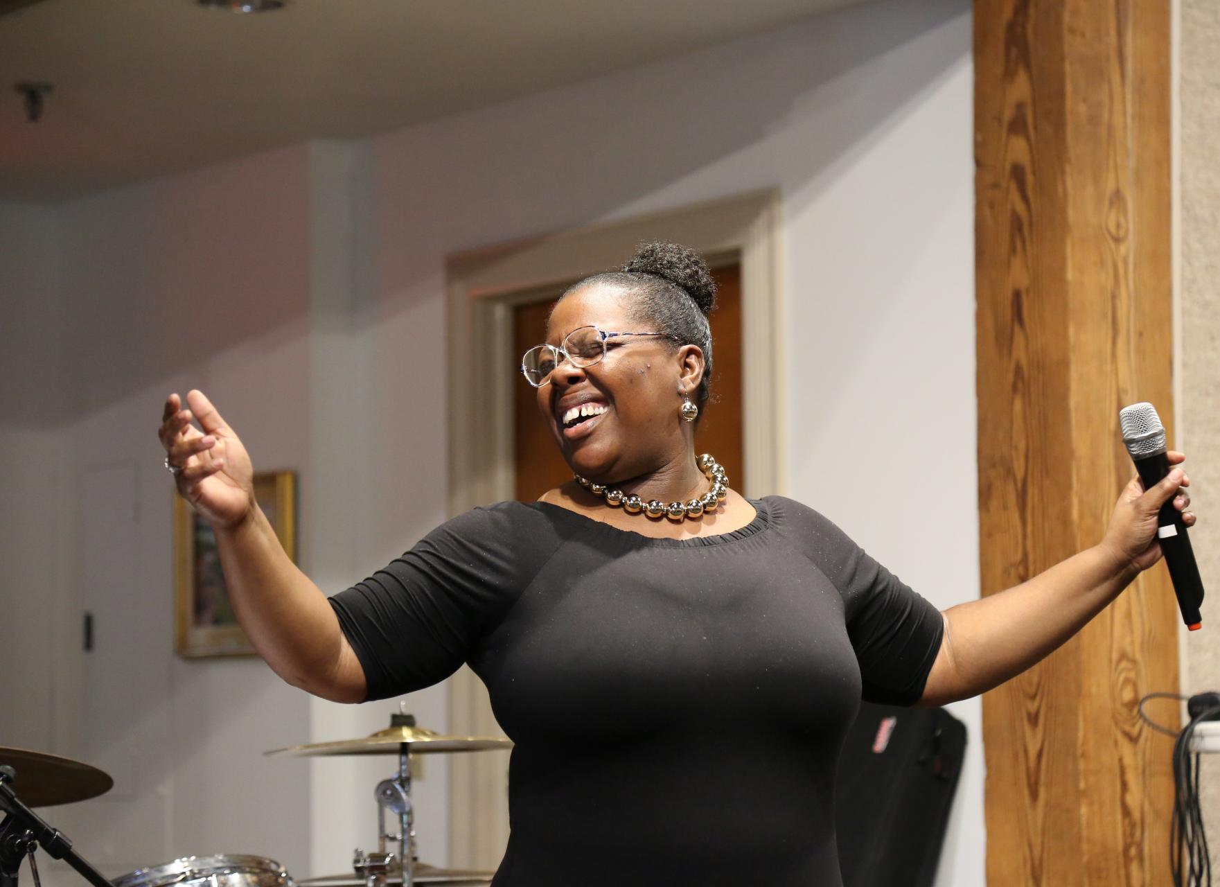 Minister Natasha Matthews