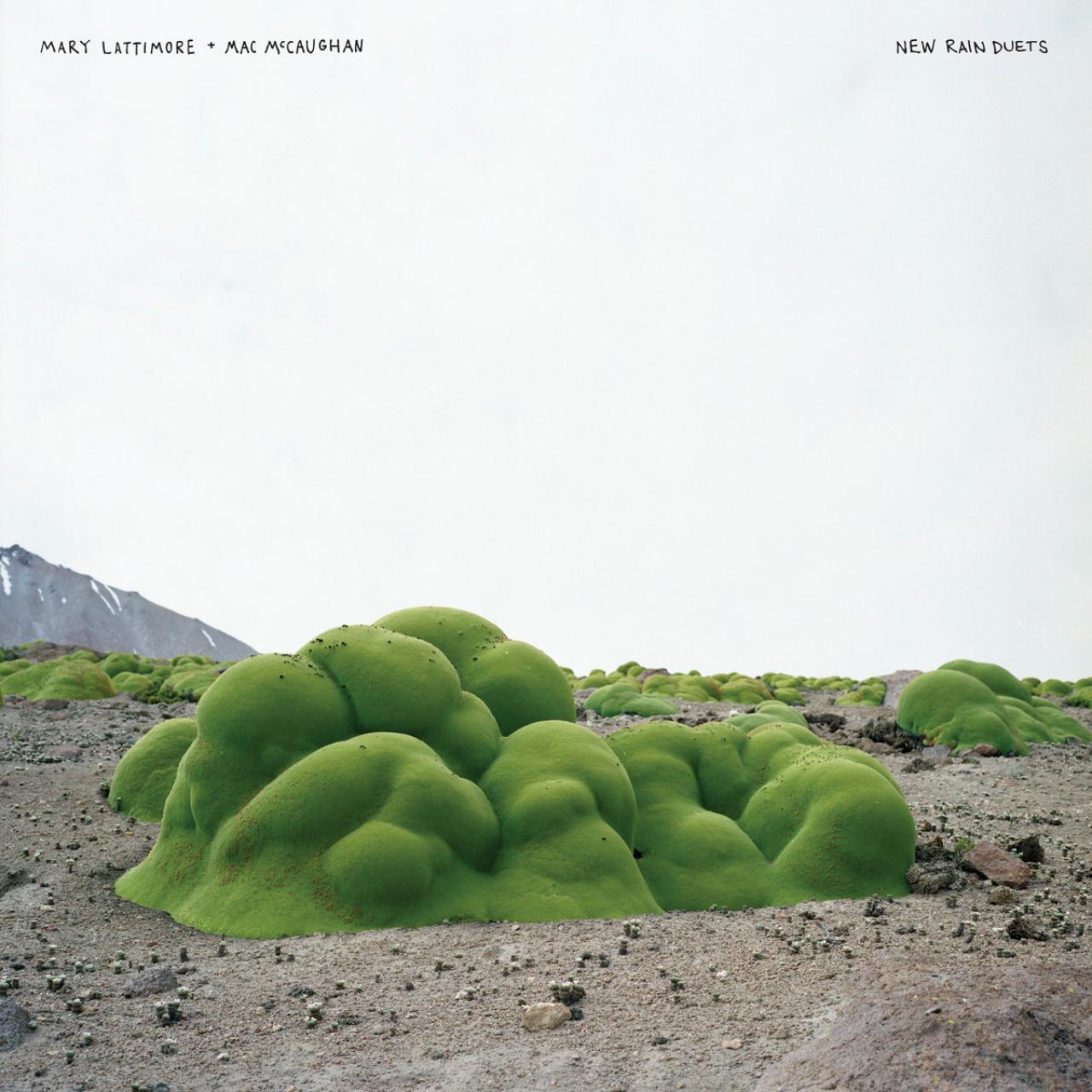Mary Lattimore and Mac McCaughan - New Rain Duets album cover