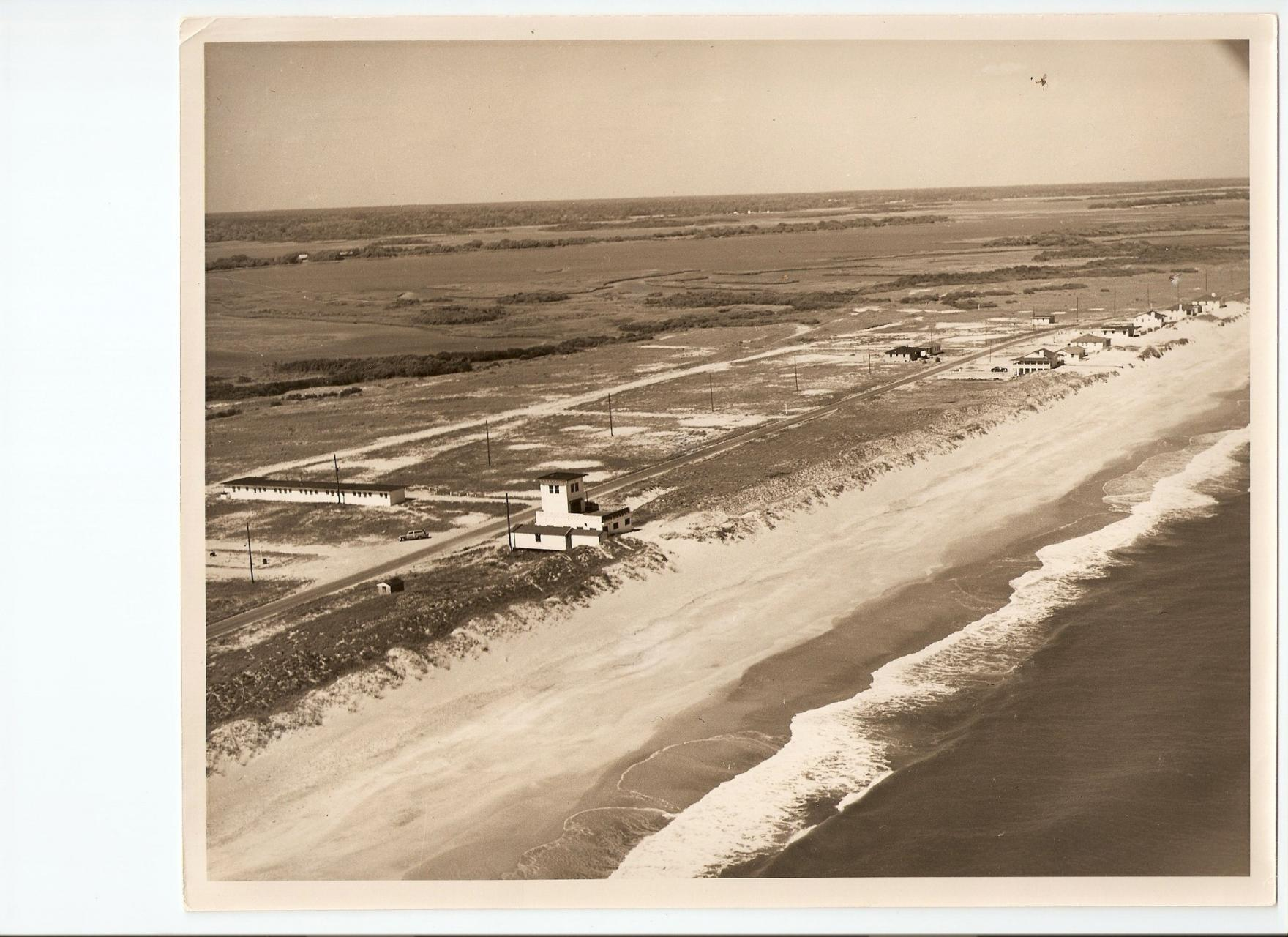 A bird's eye view of Ocean City Beach