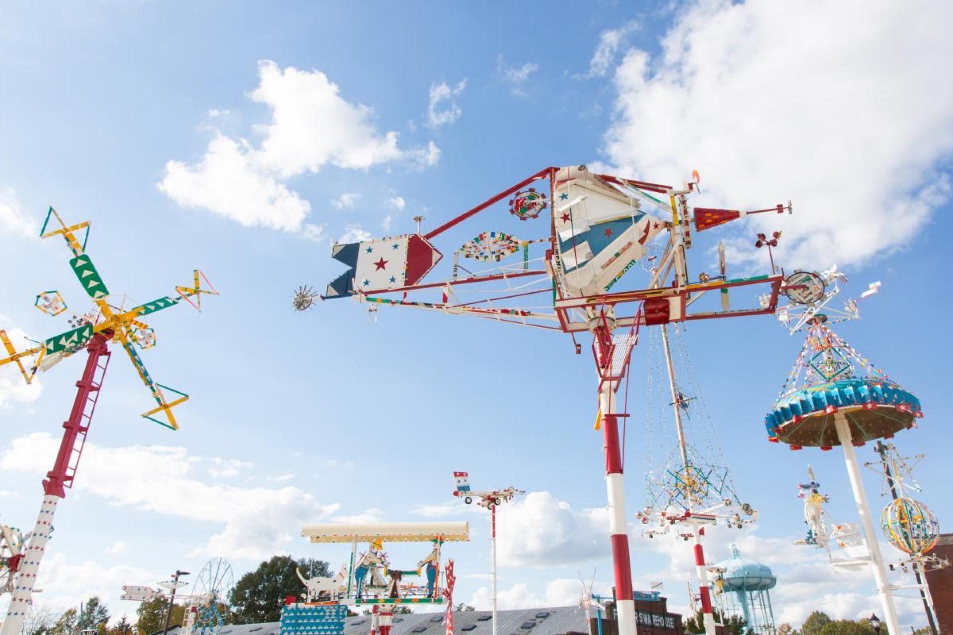 Vollis Simpson Whirligig Park Grand Opening