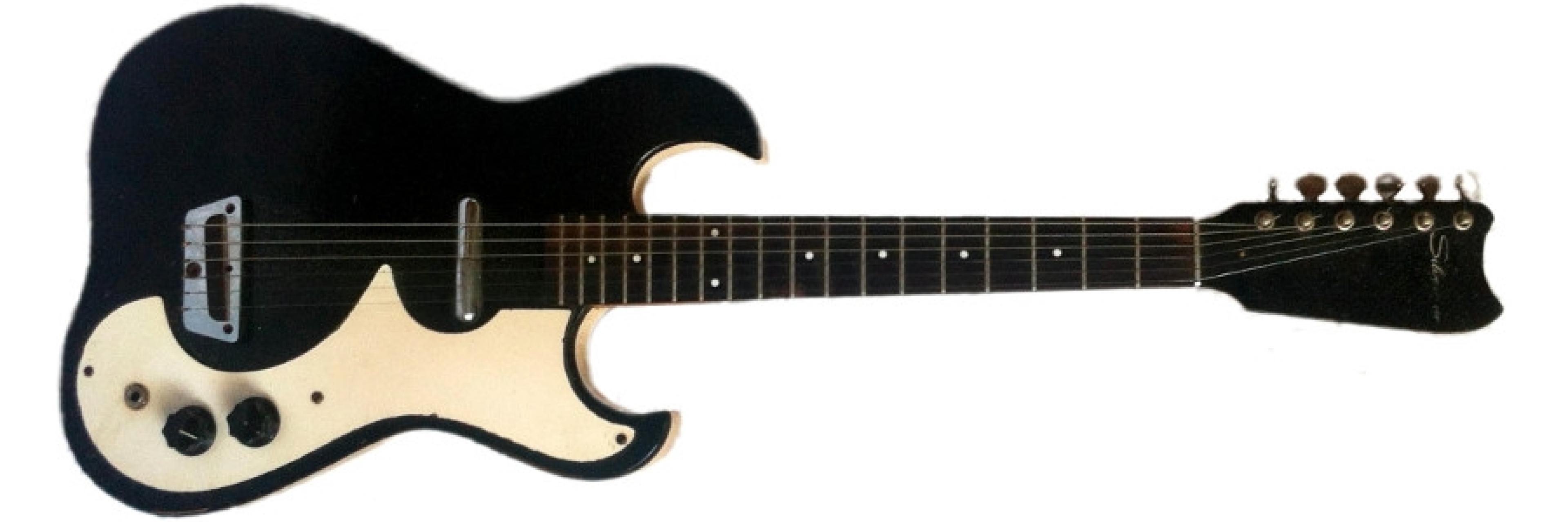 Silvertone 1448 guitar