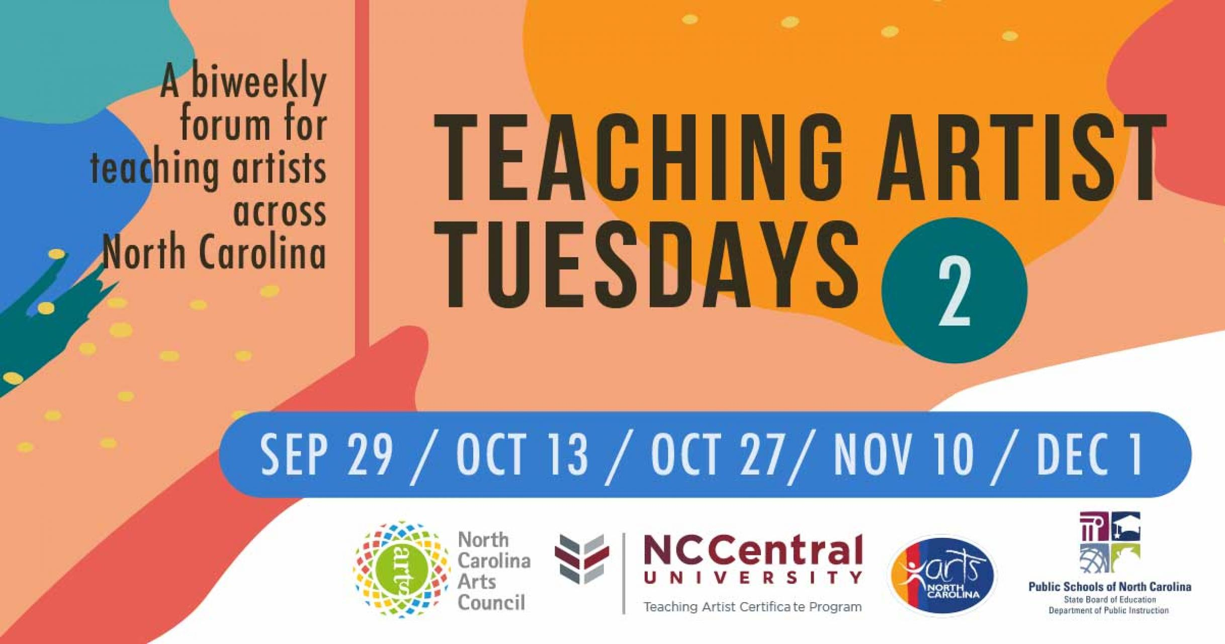 Teaching Artist Tuesdays