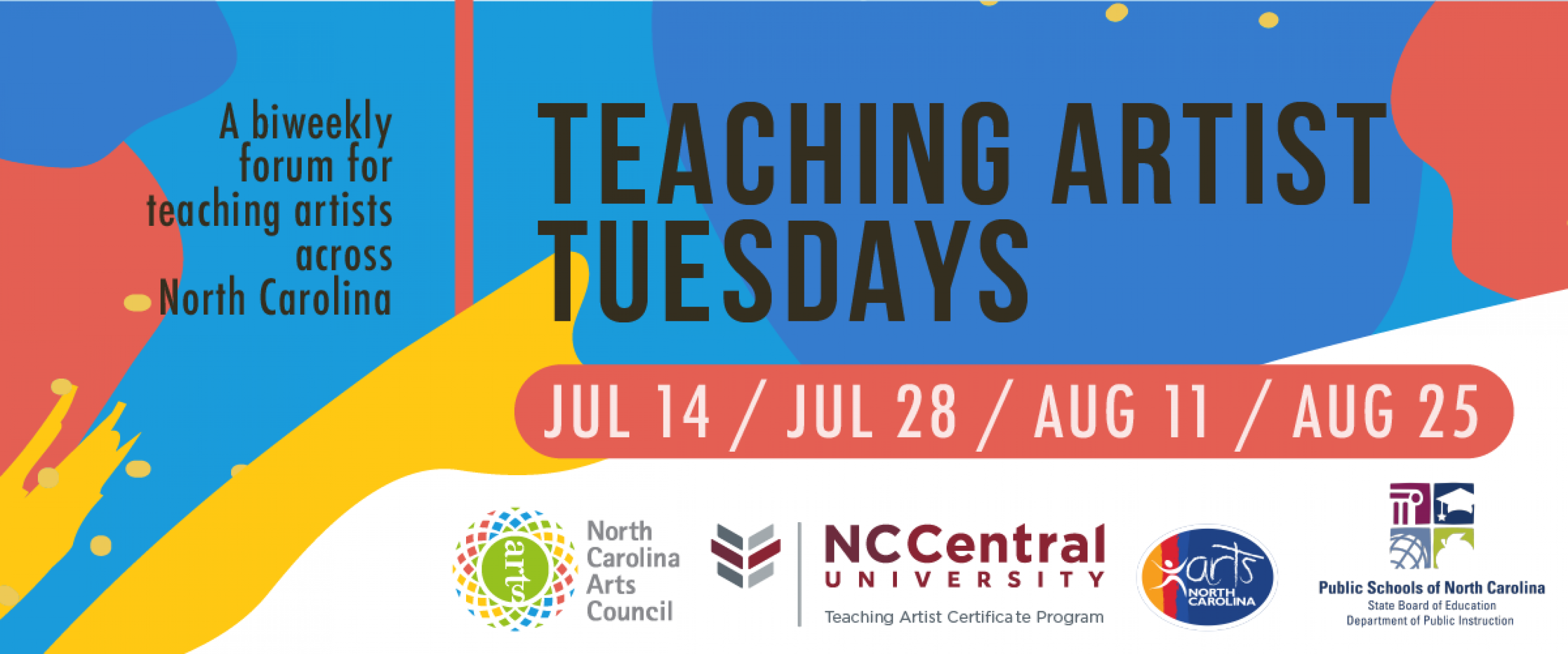 Teaching Artist Tuesdays