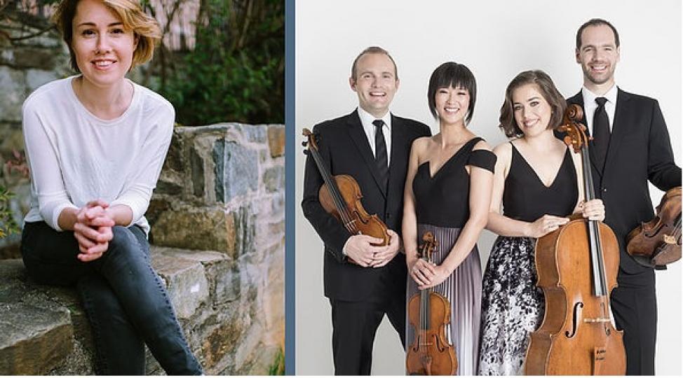 Carolina Shaw & The Jasper String Quartet