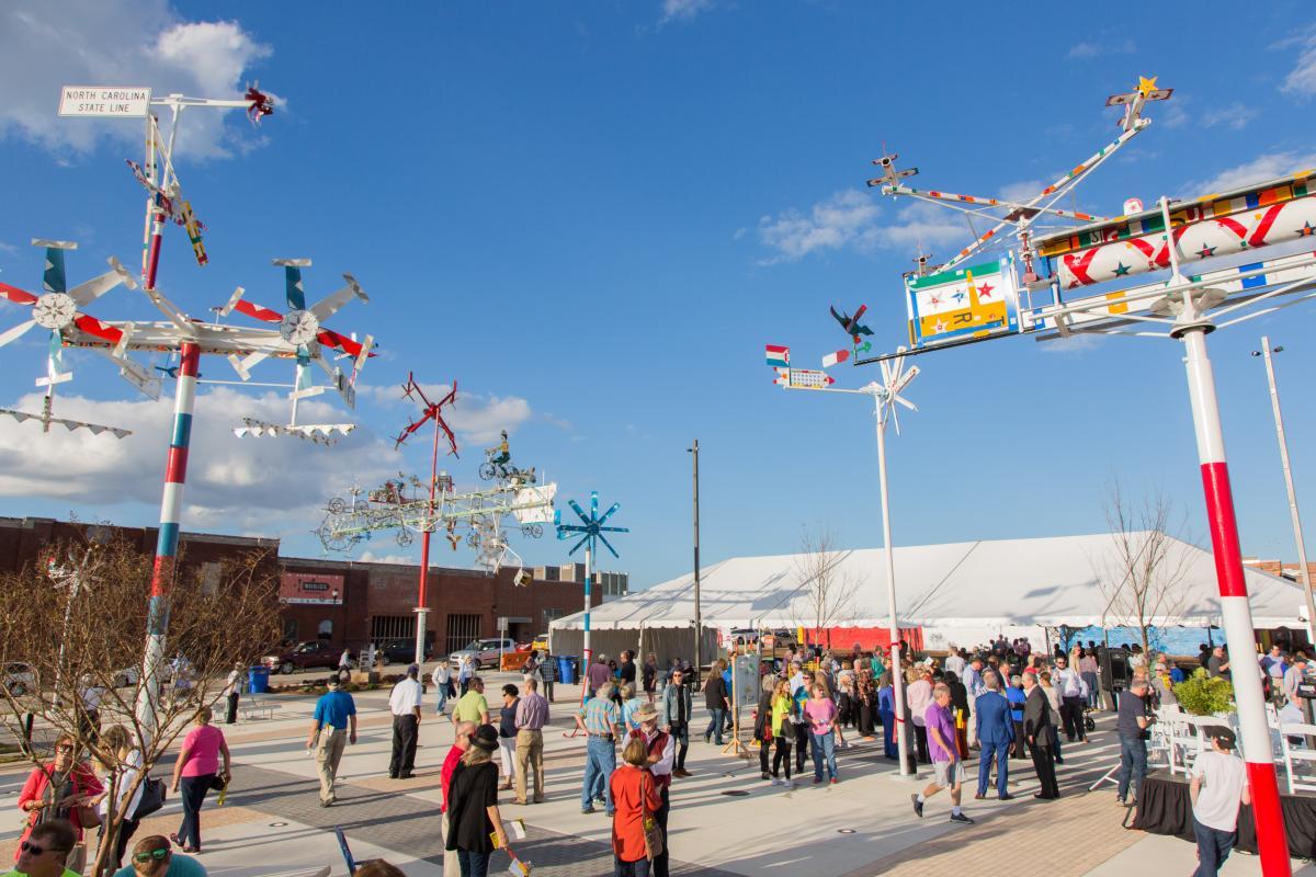 Volis Simpson Whirligig Park Grand Opening
