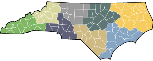North Carolina Prosperity Zone Maps