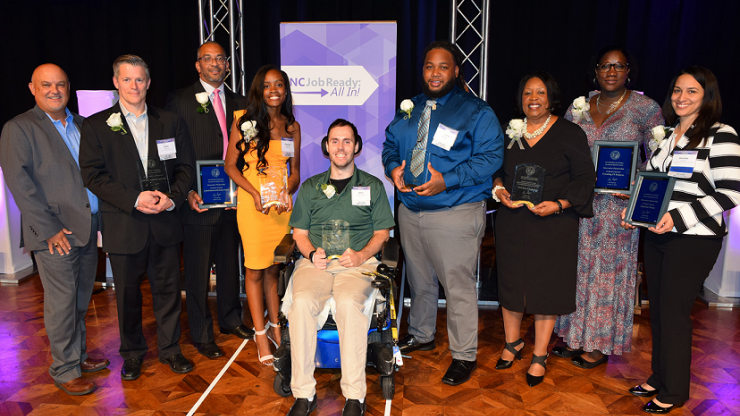 Recipients of the NCWorks Governors Awards