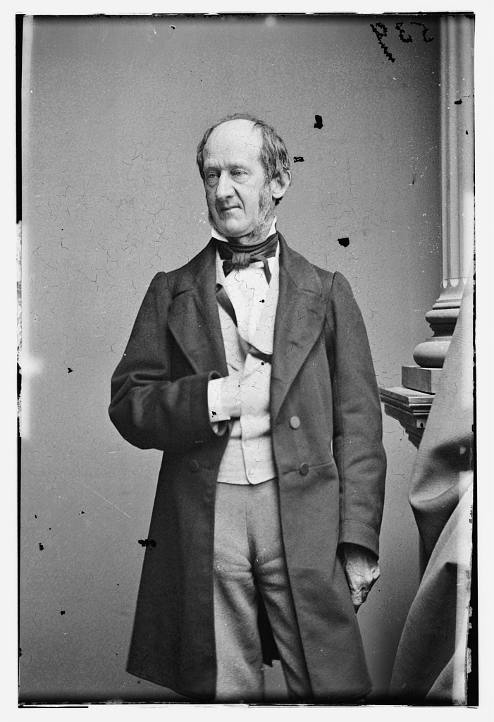 A portrait of Stanly from the Library of Congress.