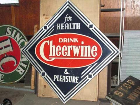 1949 Cheerwine Sign