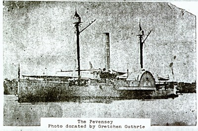 The blockade runner Pevensey