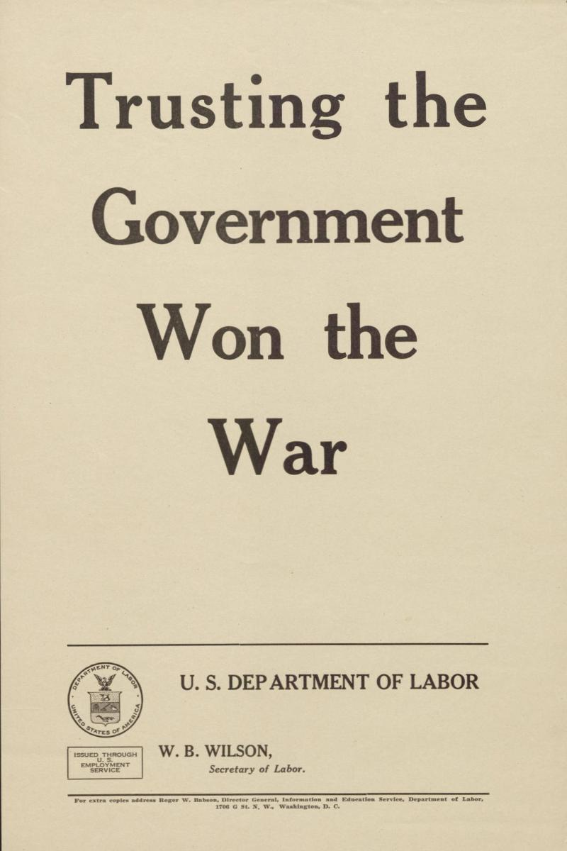 Us labor department wwi posters nc dncr labor department poster publicscrutiny Gallery