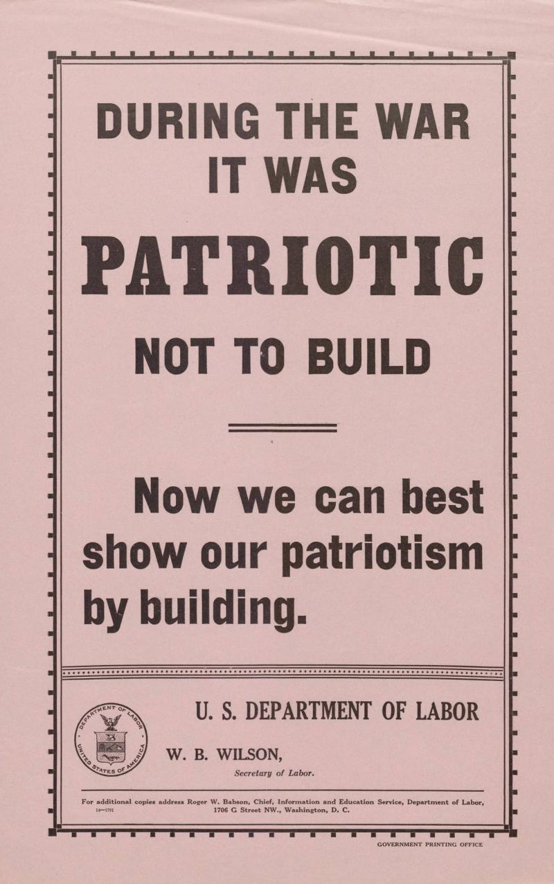 100 Americanism u.s. labor department wwi posters   nc dncr