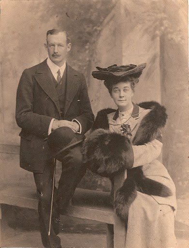 Mortimer and Madelon Hancock. Image from northeasternncstories.blogspot.com.