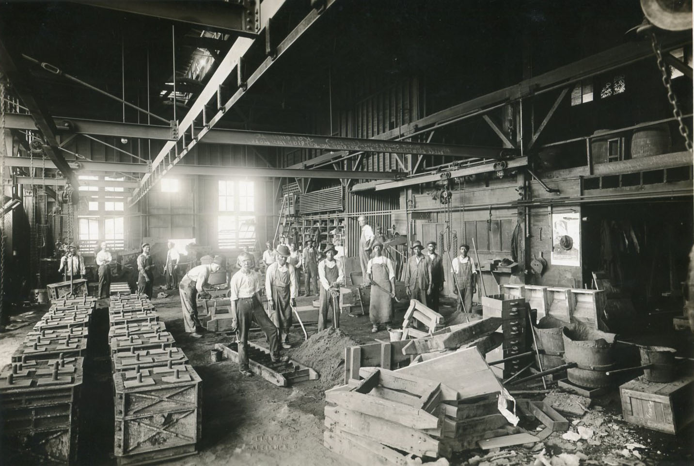 Portraits of War: Raleigh Iron Works | NC DNCR