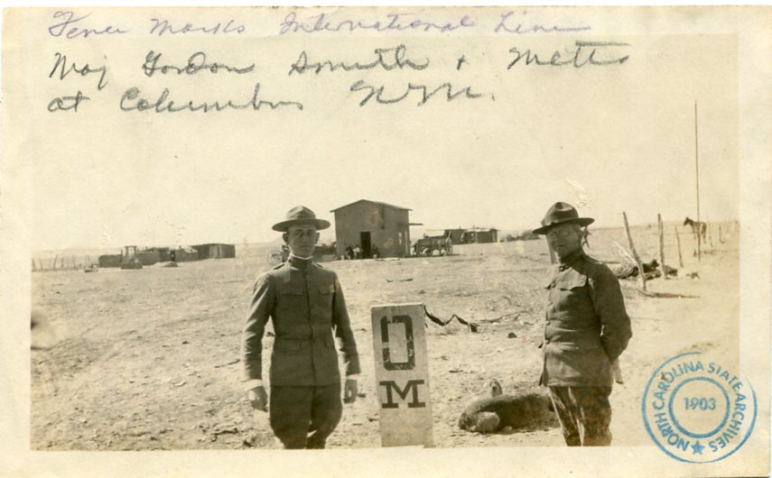 Metts Mexican Border 1917