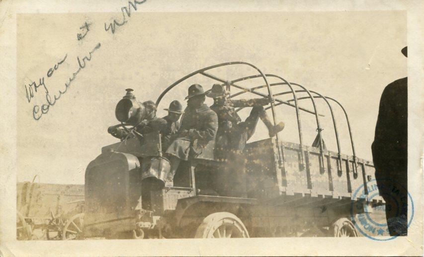 U.S. Army wagon Columbus, New Mexico