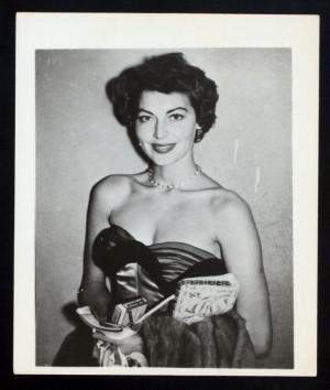 Ava Gardner Portrait