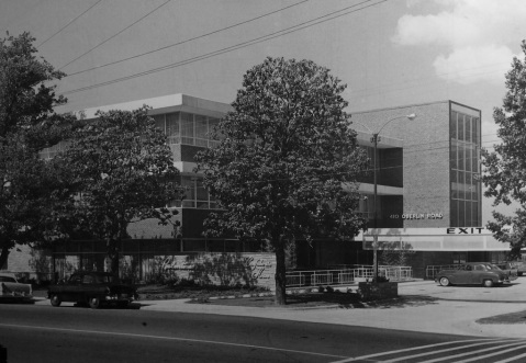 Balentine's Cafeteria at Cameron Village in Raleigh in the 1960s. Image from the State Archives.
