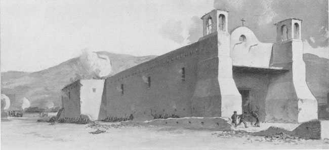 North Carolinian John H.K. Burgwin died during the siege of the Taos pueblo