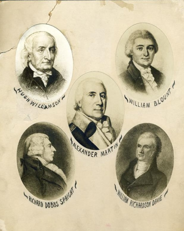 North Carolina's delegates to the federal Constitutional Convention