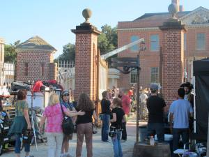 The television show Sleepy Hollow films at Tryon Palace in New Bern  in 2013.